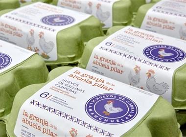 Granma Pilar's Farm鸡蛋包装设计