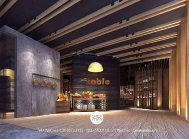 新创睿的极简品牌设计-The Eating Table餐厅VI