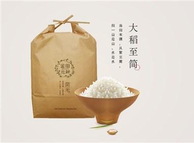 金田农业品牌设计 绿色、健康、回归自然