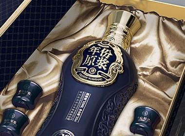 年份原浆白酒礼盒包装设计—鲸奇创意