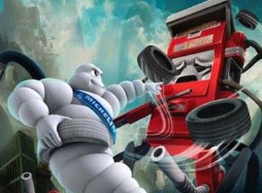 米其林燃油泵系列宣传海报