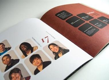 艺术设计学校画册设计欣赏