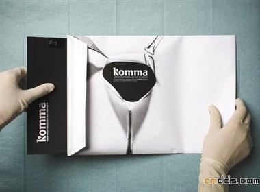 komma公司书籍设计欣赏