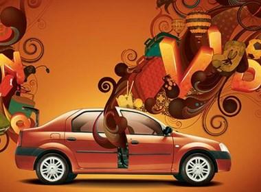 精典的汽车广告创意欣赏