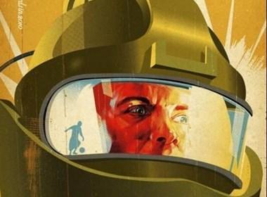 英国影视艺术学院提名影片发布复古海报
