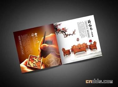 一本红木家具画册