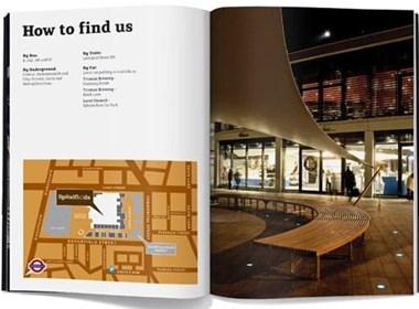 国外商场宣传画册设计赏析