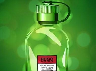 HUGO香水绚丽特效宣传海报