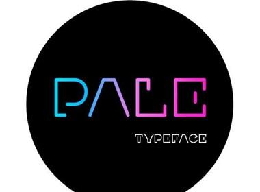Pale个性字体设计
