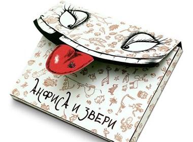 趣致的小动物明信片设计
