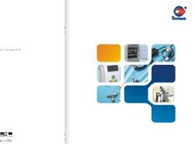 企业产品画册一本