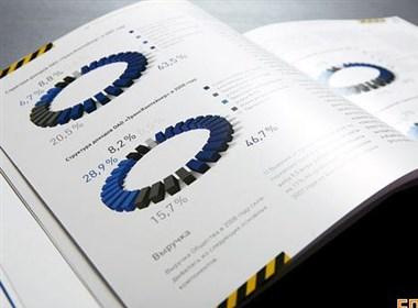 集装箱运输和物流公司画册设计