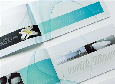 简洁清爽的卫浴画册设计