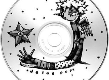 韩国手绘CD光盘封面设计欣赏