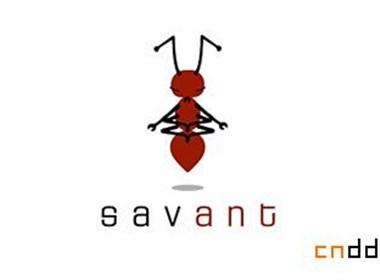 标志设计元素运用实例:昆虫