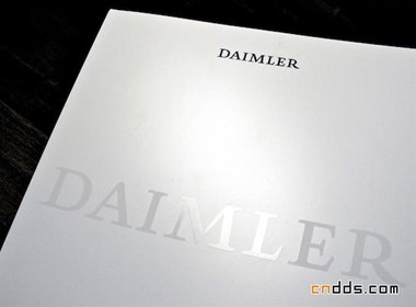 汽车品牌Daimler(戴姆勒)年报画册欣赏