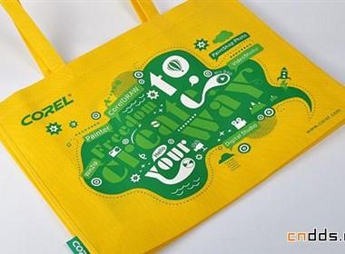 Corel环保袋设计