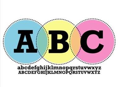 30张创意字母海报设计