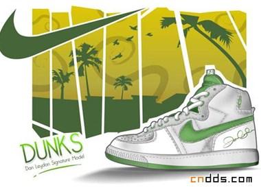 运动品牌Nike时尚平面设计