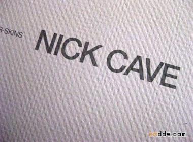 Nick Cave画册设计