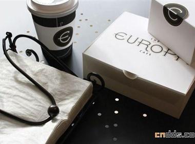 Europa咖啡馆标志