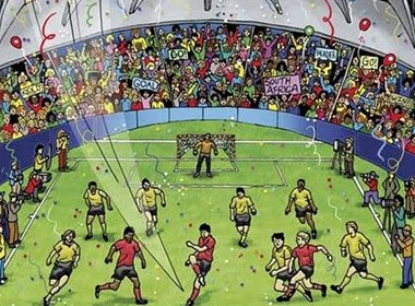 2010年南非世界杯海报设计欣赏