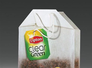 立顿奶茶创意手提袋