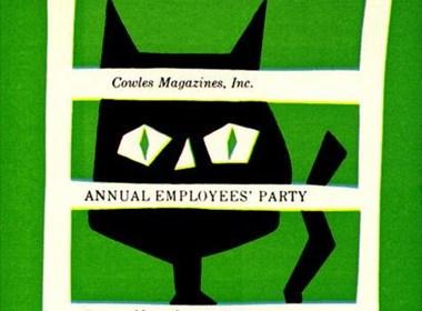 简洁的动物海报设计欣赏