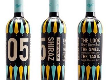 50个创意葡萄酒瓶贴设计