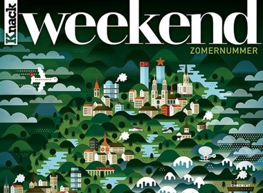 Weekend Knack杂志系列封面欣赏