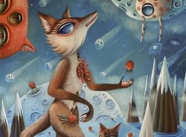 西班牙艺术家:Peca绘画作品