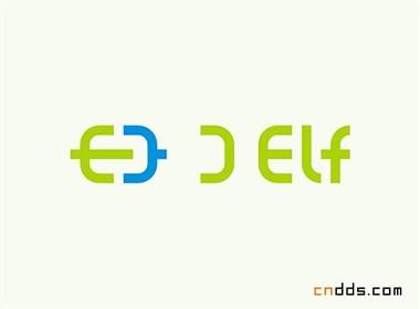 数码精灵品牌设计