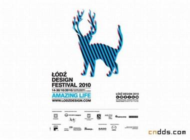 波兰lodz设计节2010及往届年度宣传视觉欣赏