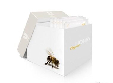 有机蜂蜜平面设计欣赏