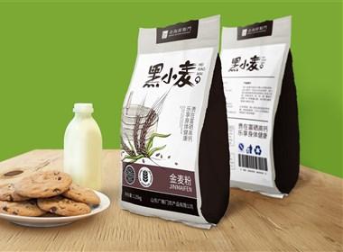 《黑小麦》小麦包装设计