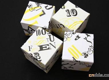 """Box It"""" 2010 为 Jingpin Paper设计的日历"""