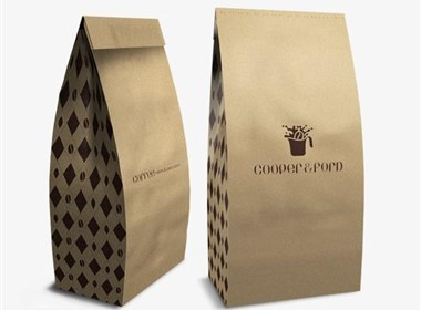 哥伦比亚设计师Robinsson Cravents:Cooper & Ford咖啡品牌设计欣赏