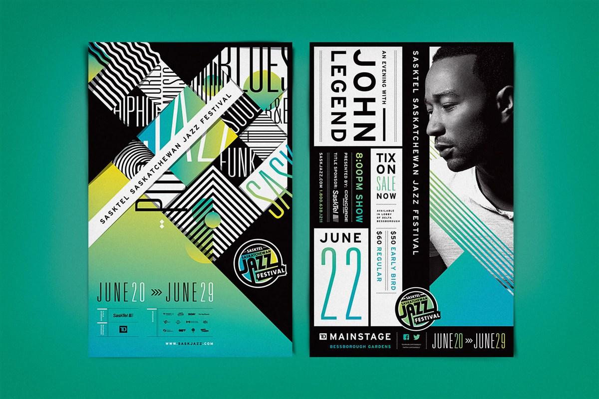 萨斯喀彻温爵士音乐节海报设计