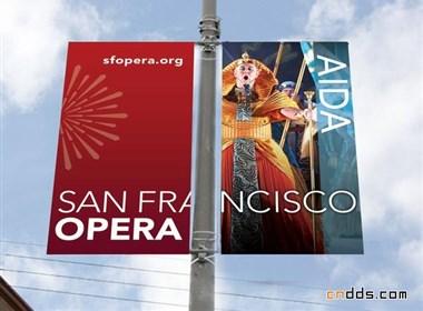 旧金山歌剧院(San Francisco Opera)视觉设计