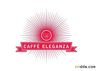 Caffè Eleganza咖啡馆视觉形象设计-Ginger Monkey