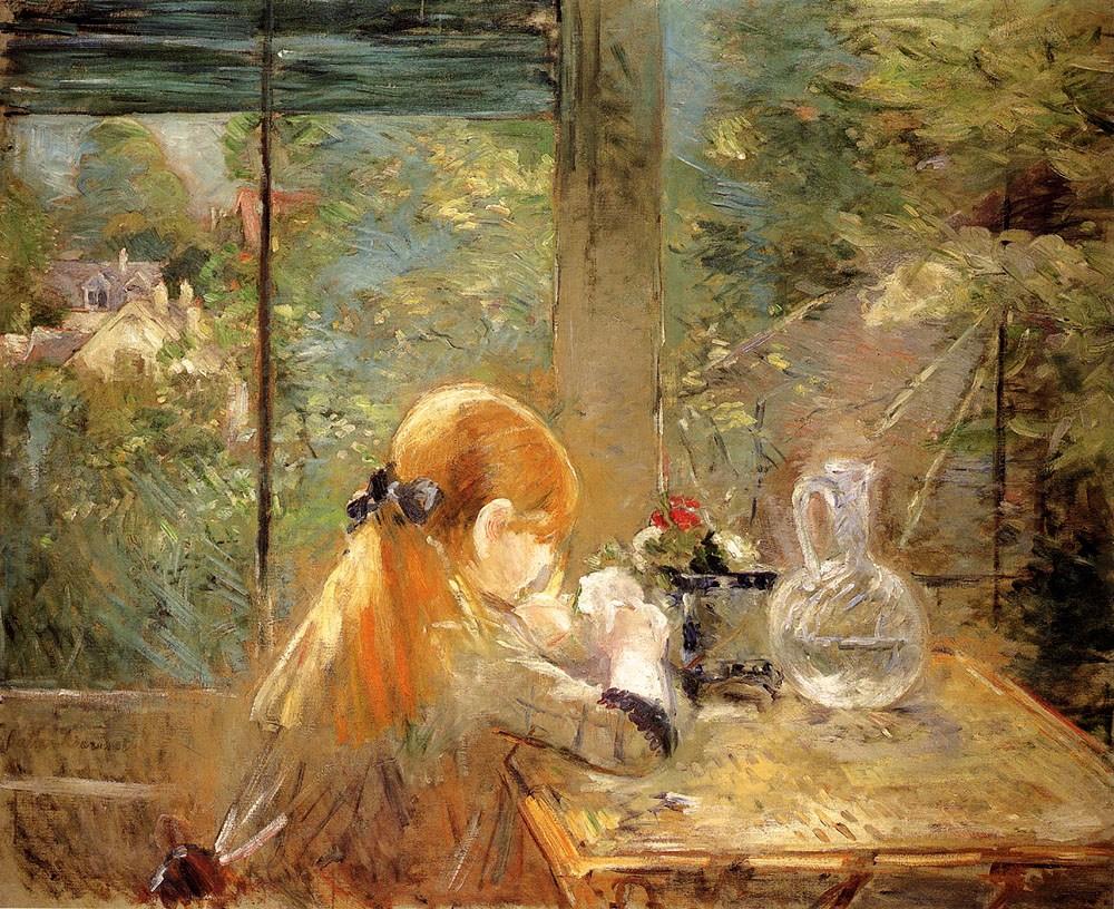 法国画家贝尔特·莫里索(berthe morisot)油画作品欣赏
