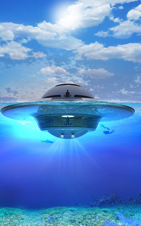 jet capsule打造全新U.F.O2.0奢华游艇