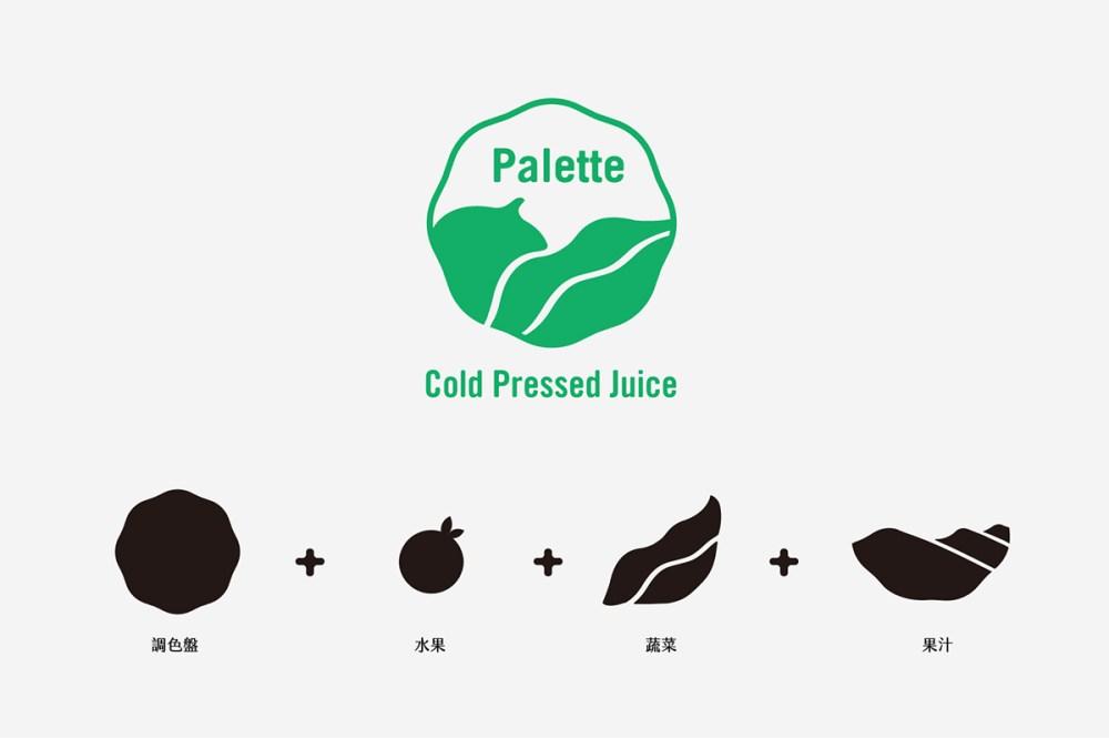 logo设计理念   [调色板]  可以透过                    色,发想以调