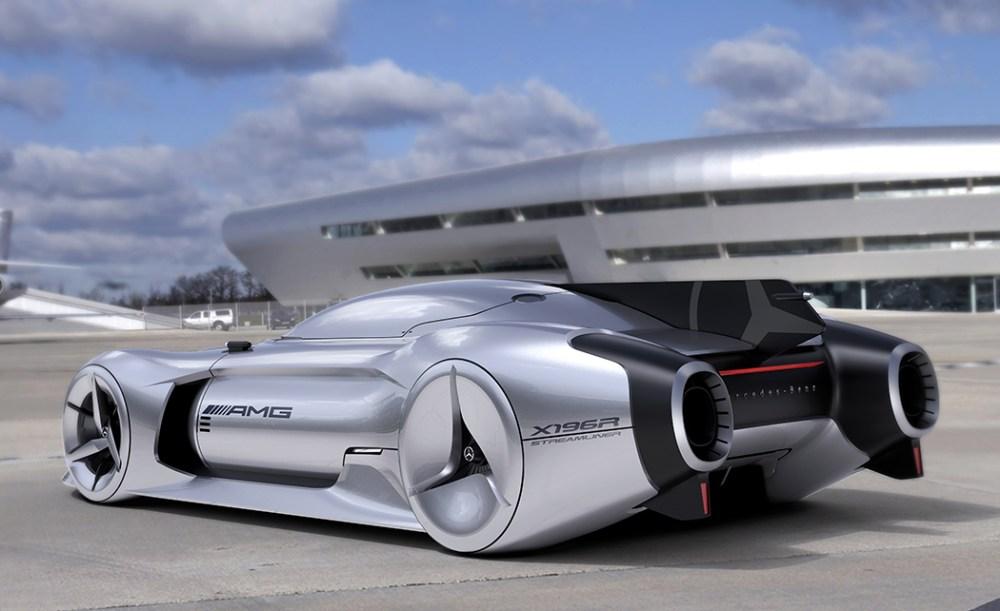 奔驰超级概念型跑车