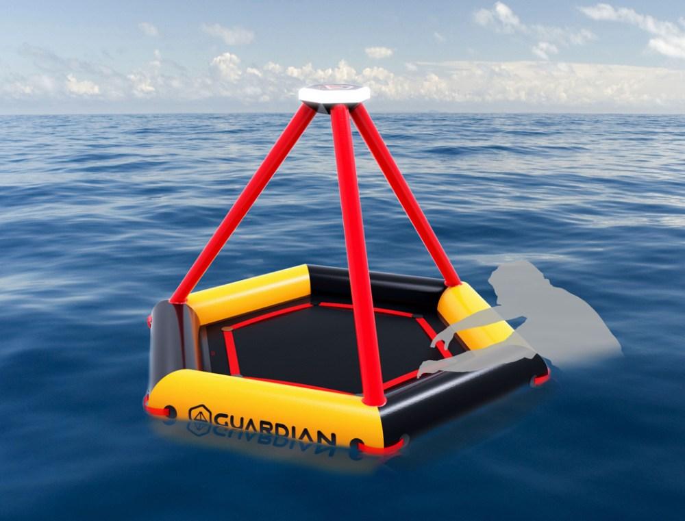 海上救生气垫