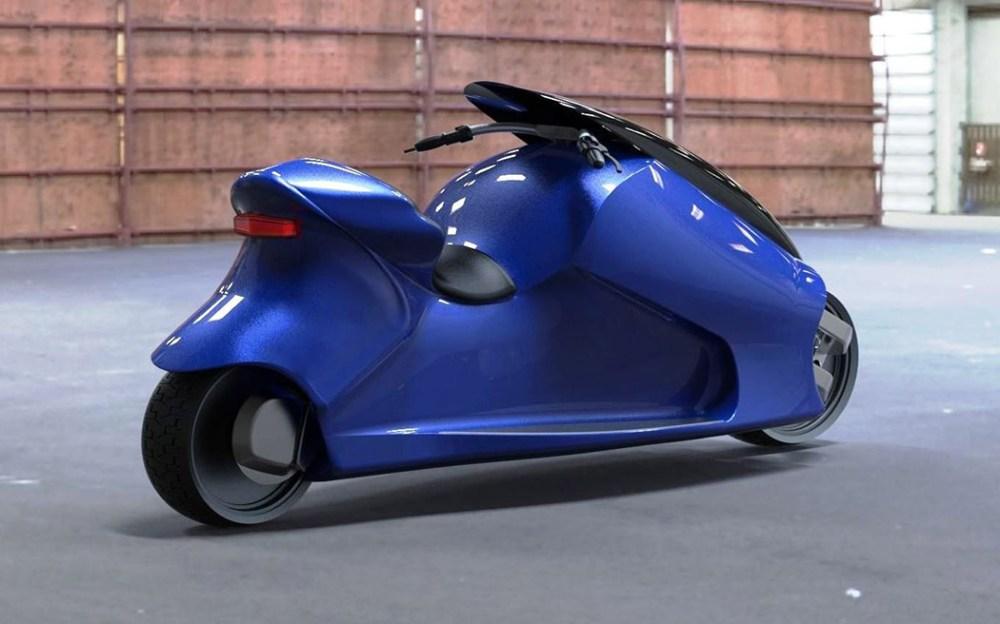 来自摩托车的超平衡快感