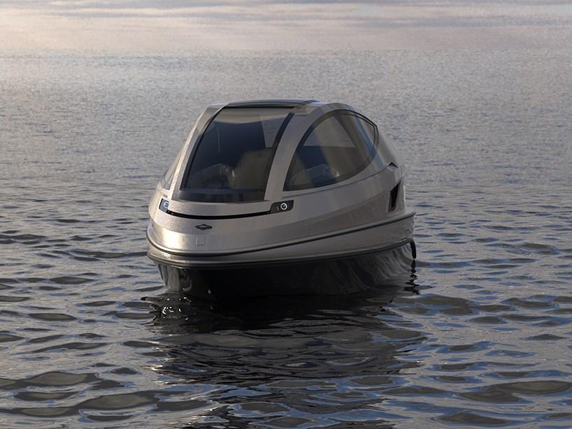 """升级版超级 """"喷气胶囊""""小型私人游艇浪漫无极限"""