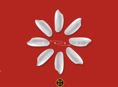 榮信自然-烏蘇里江稻花香-有機尊享大米包裝設計