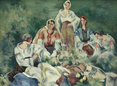 罗马尼亚画家Ion Theodorescu-Sion油画作品