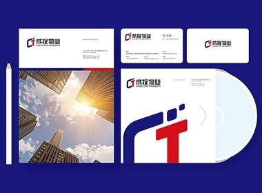 物业公司logo设计 物业公司VI设计 服务业logo设计 服务业VI设计